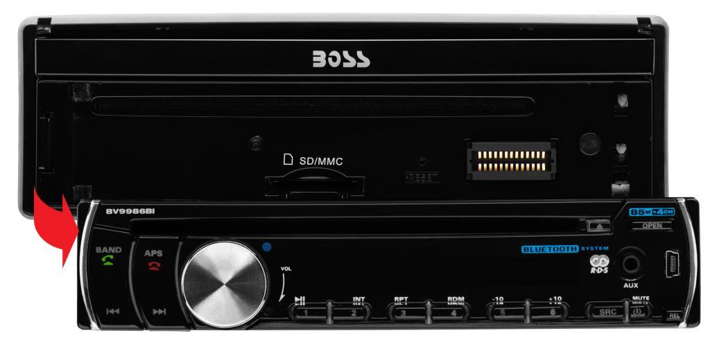 Boss Audio Bv9986bi Single