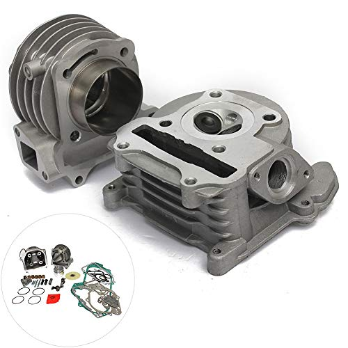 Master Bore Ring - aXXcssqw9bMotorcycle 50mm Bore Cylinder Kit for GY6 100cc 50cc 139QMB Chinese Scooter