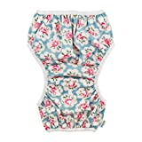 babygoal Baby Girl Swim Diaper One Size Reusable