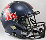 NCAA Mississippi Old Miss Rebels Full Size Speed Replica Helmet, Red, Medium