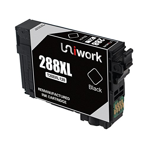 Uniwork Technology Remanufactured 288 288XL 5 Pack Cartridge Ink Replacement for use in Expression Home XP-330, XP-340, XP-430 XP-440 XP-434 XP-446 Printers Photo #3