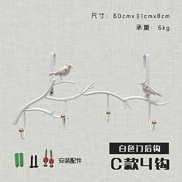 FuRongHuang An Der Wand Hängende Wand Kleiderhaken An Der Wand, C4 Haken Tür  Nach Haken