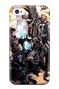 aqiloe diy Best 9903585K57725743 First-class Case Cover For Iphone 4/4s Dual Protection Cover X-men