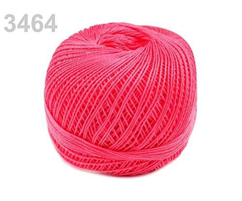 10pc 3464 Pink Lemonade Cotton Yarn Snow-White Nitarna Czech Rep, Crochet and Embroidery Yarns, Knitting, Crochet, Haberdashery