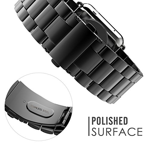 MoKo Band for Apple Watch Series 1 & 2, Stainless Steel ...