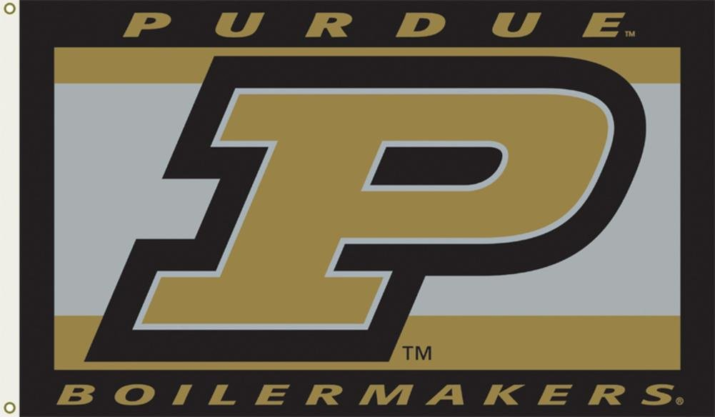 NCAA Purdue Boilermakers Flag withグロメット60 x 36 in   B00AQ6IME4