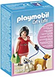 PLAYMOBIL Woman with Puppies Playset