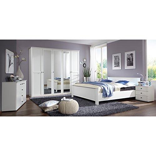 Schlafzimmer Set CHALETO166 Alpinweiß