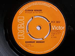 "CLODAGH RODGERS Goodnight Midnight / Together 7"" 45"