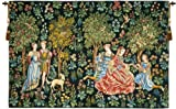 Tapestry, Extra Large, Wide - Elegant, Fine, French & Wall Hanging - Scenes Gallantes, C-H70xW110