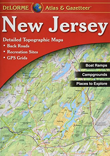 New Jersey Atlas & Gazetteer (Jersey Outlets)