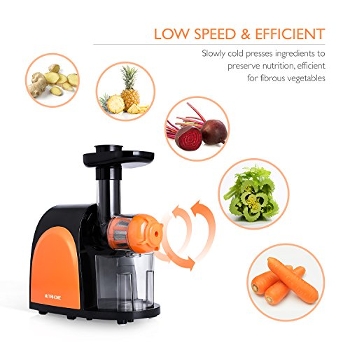 Nutrihome Slow Juicer : NUTRIHOME Masticating Juicer Extractor Healthy Wise Choice