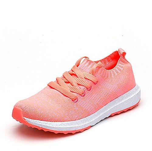 Men's Sneakers Walking Women's Casual Fashion Lightweight Pink xiaoyang Running Shoes Sport nfZzOwdx4