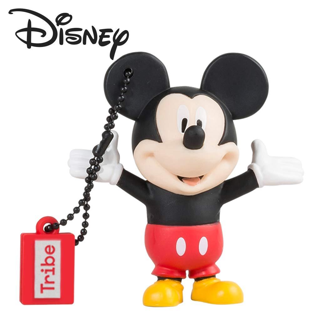 Tribe Disney Beagle Boy Chiavetta USB da 16 GB Pendrive Memoria USB Flash Drive 2.0 Memory Stick, Idee Regalo Originali, Figurine 3D, Archiviazione Dati USB Gadget in PVC con Portachiavi FD019406