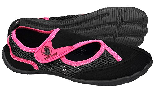Body Glove Womens Horizon Athletic Water Shoe Black/Carmine Rose ZTYEUYwSK1
