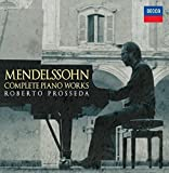 Mendelssohn:Complete Piano Wor [Import USA]