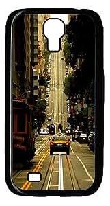 Amazing Way PC Hard Case Cover for Samsung Galaxy S4 / Samsung Galaxy I9500 Black