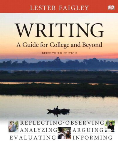 Writing: A Guide for College and Beyond, Brief Edition, with NEW MyCompLab with eText -- Access Card Package (3rd Editio