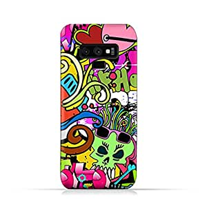 AMC Design Samsung Galaxy Note 9 TPU Silicone Protective Case with Graffiti Hip Hop Design