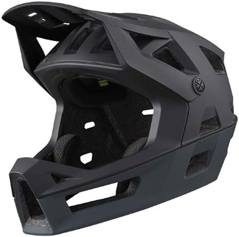 IXS Trigger FF Casco Integral MTB Adultos Unisex Negro SM (54-58 cm): Amazon.es: Deportes y aire libre
