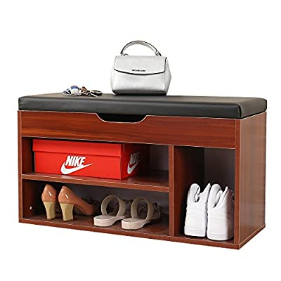 Soges Shoe Bench M018 -  - entryway-furniture-decor, entryway-laundry-room, benches - 51F1kL 7HIL. SS400  -