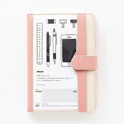 El planificador de la agenda de A5 Cute notebook organiza ...