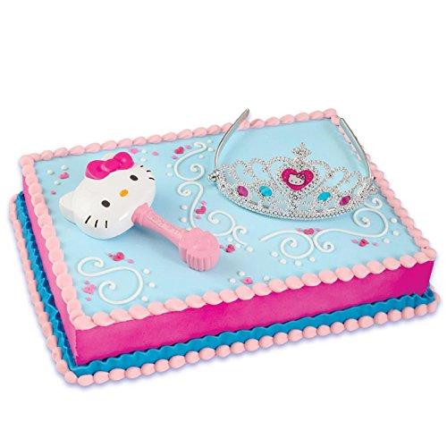 Hello Kitty Princess Cake Topper (2
