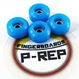 P-REP Fingerboard CNC Lathed Bearing Wheels - Sky Blue