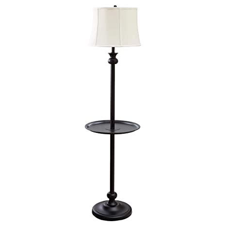 Better Homes and Gardens 4 Foot 10 Inch Floor Lamp For Home With Table Lamp Shade Floor Lamps For Living Room Bedroom