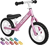 Cruzee UltraLite Balance Bike (4.4 lbs) for Ages 1.5 to 5 Years | Pink – Best Sport Push Bicycle for 2, 3 & 4 Year Old Boys & Girls– Toddlers & Kids Skip Tricycles on the Lightest First Bike 1