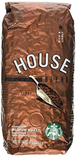 Starbucks House Blend, Whole Bean Coffee (1lb)