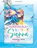 Sienna - Fairy Coloring Book: Grayscale Edition