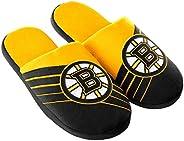 Boston Bruins Big Logo Slippers