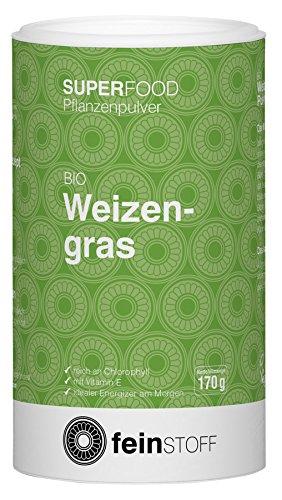 Feinstoff Bio Weizengras-Pulver, 170 g