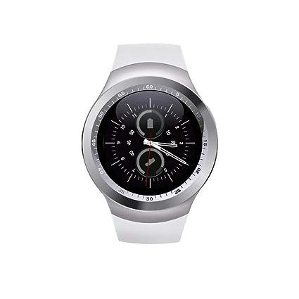 Amazon.com: Smart Watchs Round Support Nano SIM &TF Card ...
