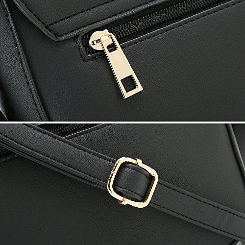 Black Purse Shoulder Small Designer Crossbody Casual Bags Handbags for Saddle Women avPcOqxw