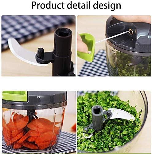XYNB Rebanadora Máquina de Cortar multifunción Manual de Cocina ...