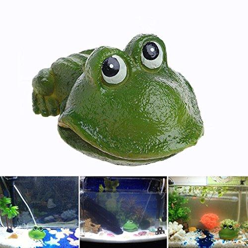 Frog Toad Collection Box Set (BCHZ Aquarium Frog Air Bubble Bubbling Stone Oxygen Pump Fish Cute Tank Ornament Decor)