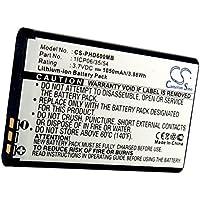 CS-PHD600MB Batería 1050mAh Compatible con [Philips] Avent SCD600