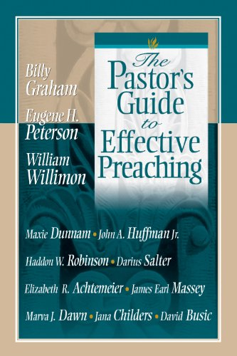 The Pastor's Guide to Effective Preaching