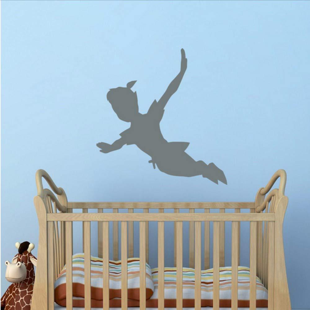 Jasonding Flying Peter Pan Shadow Tatuajes De Pared Etiqueta De ...