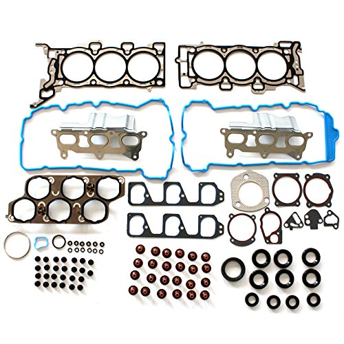 SCITOO Compatible with Head Gasket Set fits Chevrolet Malibu Equinox Pontiac G6 Torrent Saturn Aura Vue Suzuki XL-7 3.6L 07-11 Engine Head Gaskets Kit Sets]()