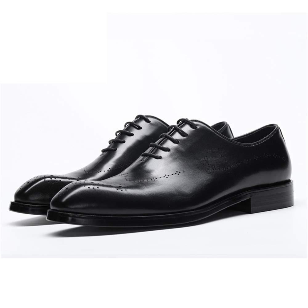 ZHRUI Lace up Oxfords für für für Männer Poliert Lackleder Breathable Formelle Schuhe (Farbe   Braun, Größe   EU 41) B07JRCVK2D 9427c9