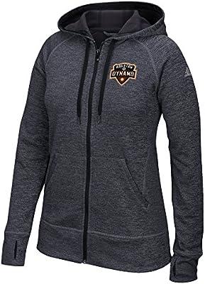 782ac41a0b790 Amazon.com   MLS Houston Dynamo Women s Primary Logo Left Chest Team Issue  Full Zip Hood