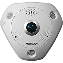 Hikvision DS-2CD6332FWD-IV Outdoor Panaramic Camera, 180/360 Degree Angle, 3MP, True Day/Night, Wide Dynamic Range, IR to 15M, POE/12VDC