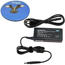 HQRP AC Adapter for HP Pavilion Sleekbook 15-b100 15-b109wm 15-b119wm 15-b120us 15-b123nr 15-b140ca 15-b140nr 15-b149ca 15-b150us 15-b167ca 15-b168ca 15-b189ca Touchsmart; Hp Envy Spectre Xt Pro 13 14 15 Ultrabook Laptop Notebook, Battery Charger Power Supply Cord + Coaster
