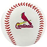 MLB St Louis Cardinals Team Logo Baseball, Official, White offers