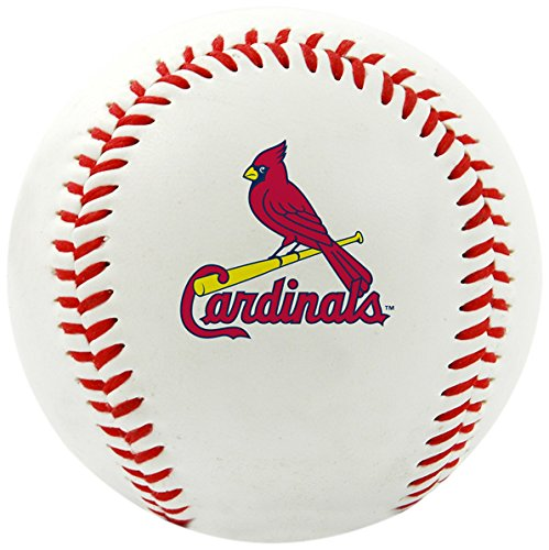 MLB St Louis Cardinals Team Logo Baseball, Official, (St Louis Cardinals Fan)