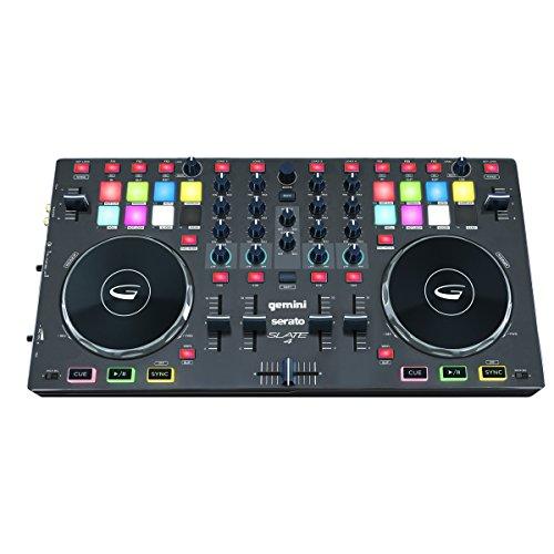 Gemini DJ SLATE 4 USB/MIDI 4-Channel DJ - Controller Gemini