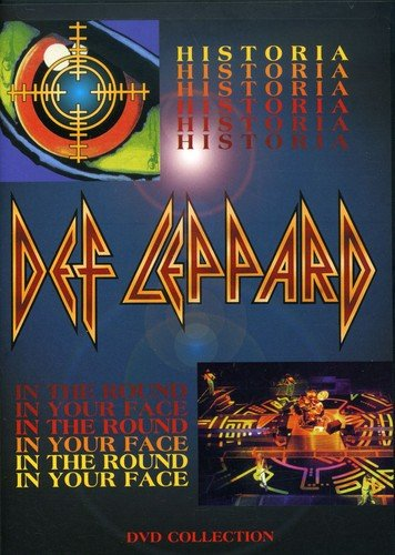 Def Leppard - Historia / In The Round In Your Face Universal Music Canada 2252875 Pop Rock